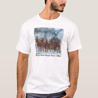 Diligens- och Sex-Häst hake T Shirt