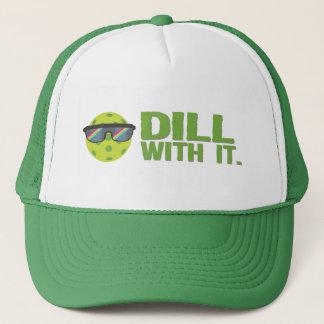 """""""Dill med den"""" Pickleball hatt Truckerkeps"""