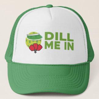 """""""Dill mig i"""" den Pickleball hatten Keps"""