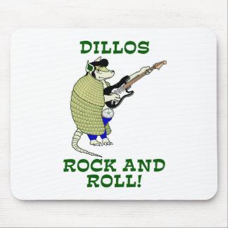 Dillos sten - och - rulle musmatta
