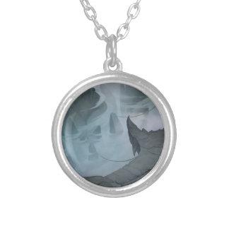 Dimma i underworlden silverpläterat halsband