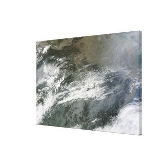 Dimma över china canvastryck