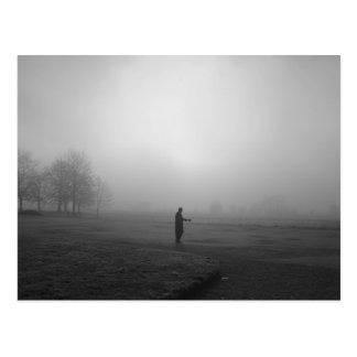 Dimmig morgon Oxford Vykort