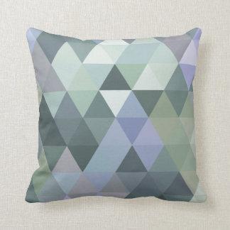 Dimmig morgondeppighet för geometriska trianglar kudde