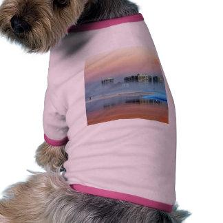 Dimmig solnedgång i Coronado Hund Kläder