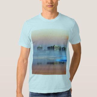 Dimmig solnedgång i Coronado T-shirts
