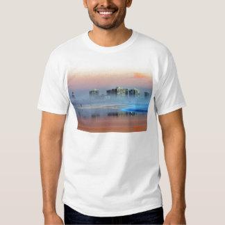 Dimmig solnedgång i Coronado Tshirts