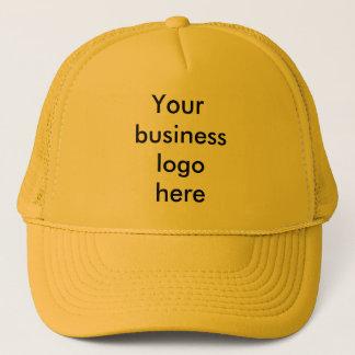 Din affärslogotyp här truckerkeps