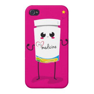 Din choklad är den enda medicinen… iPhone 4 hud