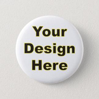 Din design här standard knapp rund 5.7 cm