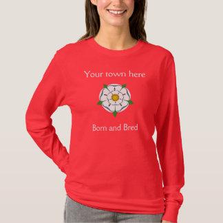 Din födda Yorkshire Town - & födde upp T-shirts