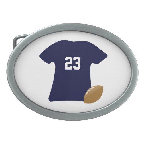 Din fotbollskjorta med boll