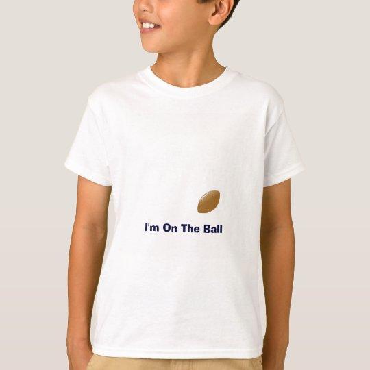 Din fotbollskjorta med boll på T-skjortan T Shirts