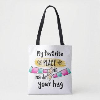Din kram som min favorit- toto för ställe | hänger tygkasse