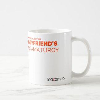 Din pojkvän dramaturgimugg kaffemugg