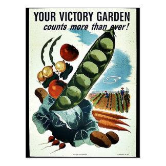 Din segerträdgård vykort