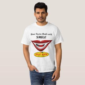 Din smaklökar ska leendeutslagsplats tröja