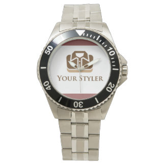 Din Styler manar klocka för armband för rostfritt