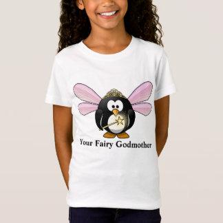 Din T-tröja för fe för god fétecknadpingvin T Shirt