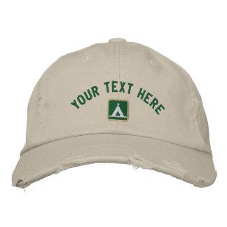 Din text här (skapa ditt eget), broderad keps