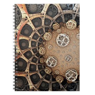 Din vetenskapsanteckningsbok anteckningsbok med spiral
