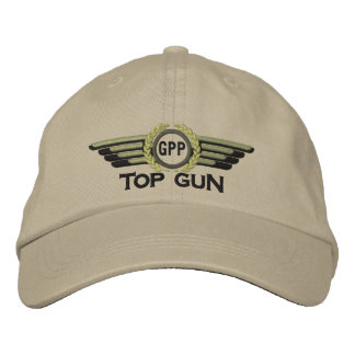 Dina bästa lagrar för vapenMonogramflyg lotsar Broderad Keps