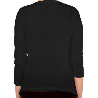Dina beställnings- kvinna Bella kopplad av sleeve T Shirt