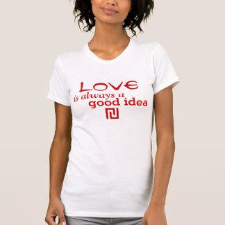 Dina egna texter, ord och Wisdoms Tee Shirt