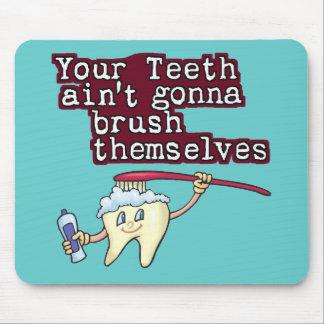 Dina tänder Aint som går att borsta sig Musmattor