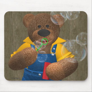 Dinky björn: Att blåsa bubblar Musmatta
