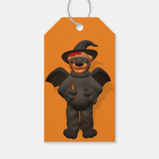 Dinky björnar: Lite fladdermöss Presentetikett