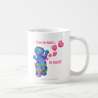 Dino-Buddies™ mugg - Patches™ w/Hearts