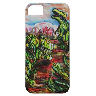 Dino drama iPhone 5 hud
