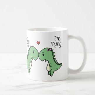 Dino kärlekmugg! kaffemugg