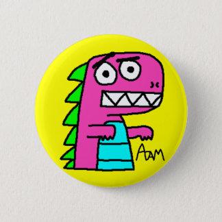 Dino knäppas standard knapp rund 5.7 cm