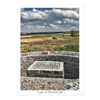 Dinogetia fästning vykort