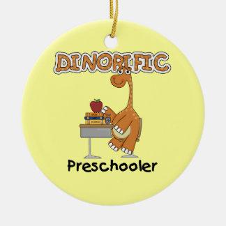 Dinorific PreschoolerT-tröja och gåvor Julgransprydnad Keramik
