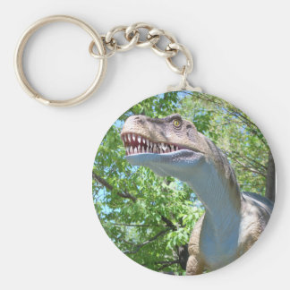 Dinosaur T-Rex Rund Nyckelring
