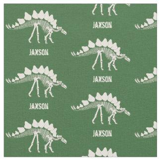 Dinosaurben med namn tyg
