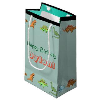 Dinosaurgrattis på födelsedagenpersonligen hänger