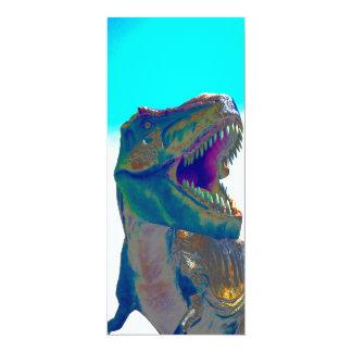 Dinosaurinbjudan 10,2 X 23,5 Cm Inbjudningskort