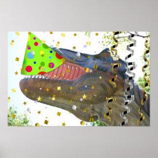 Dinosaurpartydjur Posters