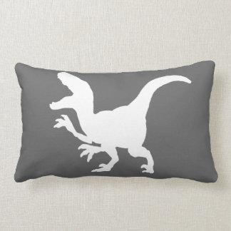 DinosaurrovfågelSilhouette Lumbarkudde