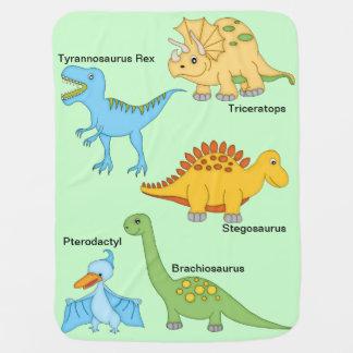 Dinosaurs Bebisfilt