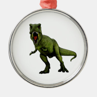 Dinosaurs T-Rex Julgransprydnad Metall