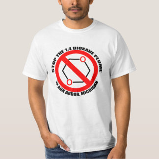 Dioxane för stopp 1,4 i Ann Arbor T Shirts
