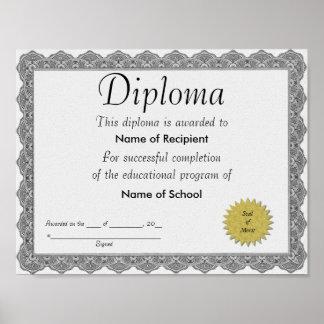 Diplom Poster