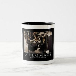 Diplomati Två-Tonad Mugg