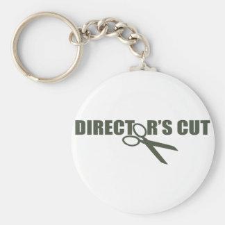 Direktör snitt rund nyckelring