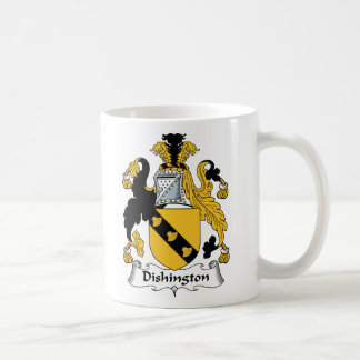 Dishington familjvapensköld kaffemugg
